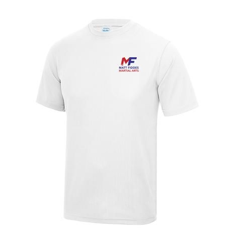 MF White Cool Plus T-shirt